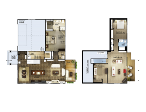 Oakvale Floorplan Button
