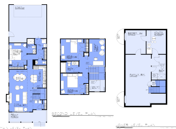 The Glade Floorplan button
