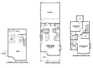 PVN The Woodside floorplan