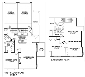 Pinebluff A floorplan button